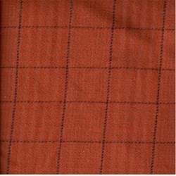 Need'l Love Wools - Dark Orange Plaid - by Renee Nanneman for Andover Fabrics