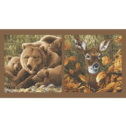 "Northwoods - 24"" Panel - by Andover Fabrics"
