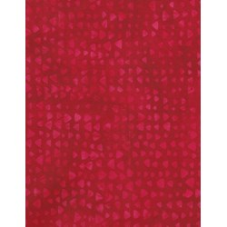 Anthology Hand Made Batik - Red Print