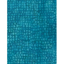 Anthology Hand Made Batik - Turquoise Print