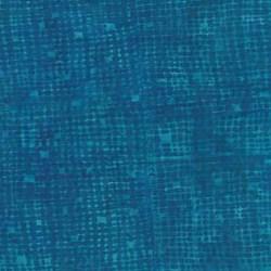 """End of Bolt - 73"""" - Anthology Hand Made Batik - Turquoise Geometric Shapes"""