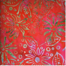 Anthology Hand Made Batik -Red Print