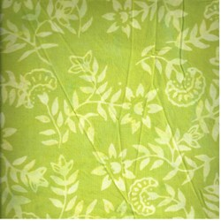 Anthology Hand Made Batik -Green Print