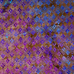 Anthology Hand Made Batik - Blues/Purples Geometric