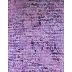 Anthology Hand Made Batik - Purple Scaly Print