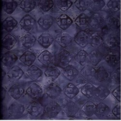 Anthology Solid Batik - Purple Geometric Shapes