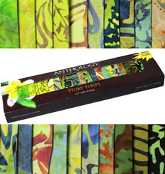 Anthology Batik Story Strips - Bamboo Forest