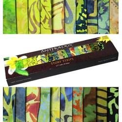 Anthology Batik Story Strips - Bamboo Forest