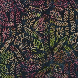 Tonga Batiks -Lush Collection - Navy #B4148- by Timeless Treasures