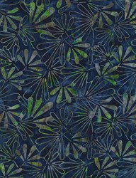 "End of Bolt - 78"" - Tonga Batiks -Royal #B6202 -Lush Collection"