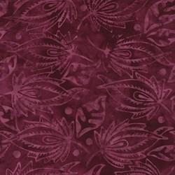 "15"" Remnant - Tonga Batiks B7138-Dahlia  by Timeless Treasures"