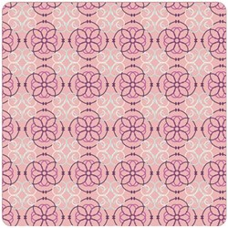 "END OF BOLT- 90"" - -Bazaar Style Rose Mosaic"