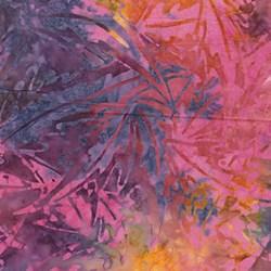 Bali Dolce - Crazy Fall Fuchsia/Multi - Batik by Benartex