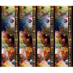 Cosmos - Border Stripe -  Jason Yenter for In the Beginning Fabrics