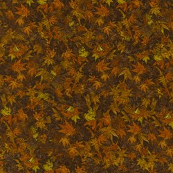 "End of Bolt - 69"" - Danscapes - Fall Leaves - by Dan Morris for RJR Fabrics"