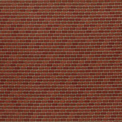"End of Bolt - 60"" - Danscapes - Brick Red - by Dan Morris for RJR Fabrics"