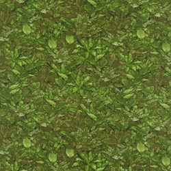 "End of Bolt - 71"" - Danscapes - Leaf Green - by Dan Morris for RJR Fabrics"