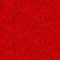 Folio - Bright Red - by The Color Principle for Henry Glass Fabrics