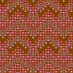 Soul Mate - Prismatic - Cocoa - by Amy Butler for Free Spirit Fabrics