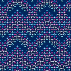 Soul Mate - Prismatic - Navy - by Amy Butler for Free Spirit Fabrics