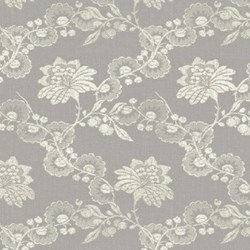 "27"" Remnant- Cream Floral Lace by, Hennessy, Williamsburg Collection"