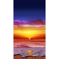 Hoffman Sunset Fabric Panel p4244-151-sunset