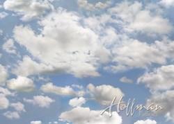 P4395-16 THE SKY- A Hoffman Digital Spectrum Print -Wide Open Spaces - The Sky
