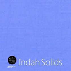 Me + You Indah Solids - Periwinkle- By Hoffman Fabrics