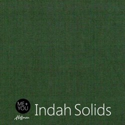 Me + You Indah Solids - Pine - By Hoffman Fabrics