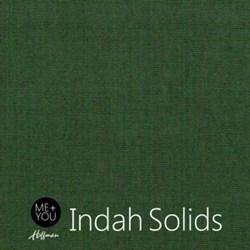 Me + You Indah Solids - Pine - By Hoffman Fabrics