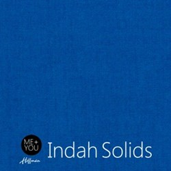 Me + You Indah Solids - Cobalt- By Hoffman Fabrics