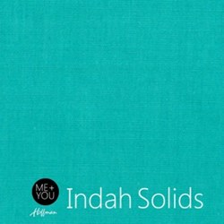 Me + You Indah Solids - Aquamarine - By Hoffman Fabrics