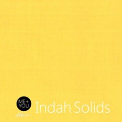 """End of Bolt - 38"""" - Me + You Indah Solids - Buttercup - By Hoffman Fabrics"""