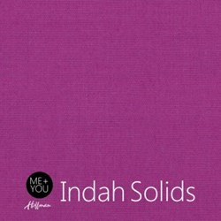 Me + You Indah Solids - Magenta- By Hoffman Fabrics