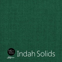 """End of Bolt - 65"""" - Me + You Indah Solids - Spruce- By Hoffman Fabrics"""