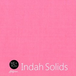 Me + You Indah Solids - Sweet Pea - By Hoffman Fabrics