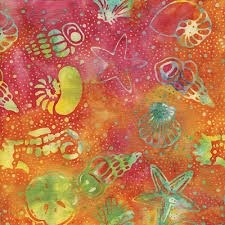 Island Batik - Seashore Collection -  #111622096