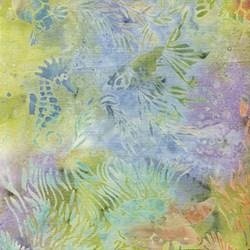 "32"" Remnant - Island Batik Seashore - Pastel Underwater"