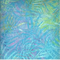Island Batik- Rainbow Water Fern