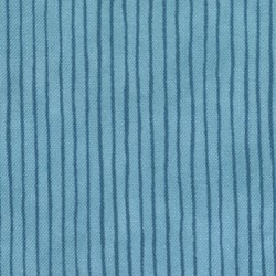 "12"" x20"" Remant -  It's Snowing Flannel - Blue Stripe"