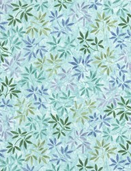 Tranquility Fabric Collection  -  JT-C6055-Sea by Timeless Treasures
