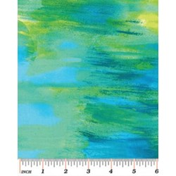 Patio Prints in Blue/Green by Kanvas for Benartex  #6519-45