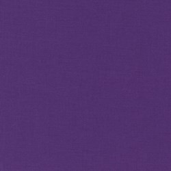 "22"" Remnant - Robert Kaufman Kona K001 - 80 Mulberry"
