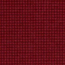 "End of Bolt - 61"" - Woolies Flannel - Dark Red Mini Houndstooth - by Maywood Studios"