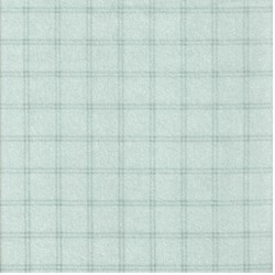 "End of Bolt - 60"" - Blue Window Pane Check  - Woolies Cotton Flannel"