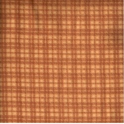 Woolies Flannel - Orange Plaid - by Maywood Studios