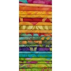 "Vintage Find! Michael Miller Rainbow Brights 10"" Square - 42 pieces (2 each design)"