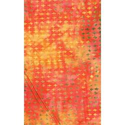 The Sweet Life Batik by Moda-Red Small Diamond Print