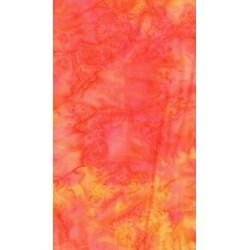 The Sweet Life Batik by Moda-Red and Orange Dye
