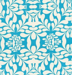 "27"" Remnant - Tribal in Teal From Free Spirit Fabrics"